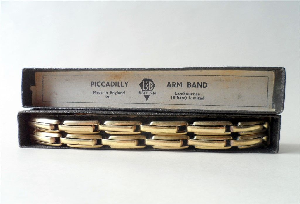 Vintage Lambournes Sophos Piccadilly Rolled Gold Filled